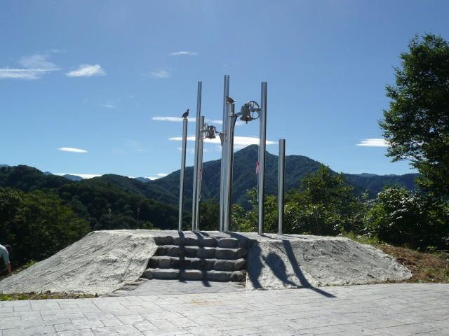 6_幸せの鐘設置工事(除幕式)