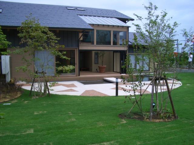 K邸庭園改修工事